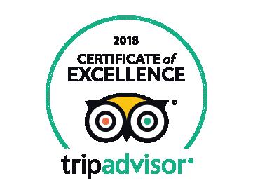 certificat of exelence trip advisor